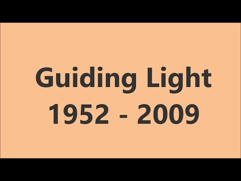 Guiding Light Opening Compilation
