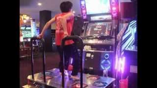 "PARANOiA REVOLUTION CHALLENGE DOUBLE (Option:MIRROR) ""C""RANK TAKASKE-/DDR_JAPAN DDRX3"