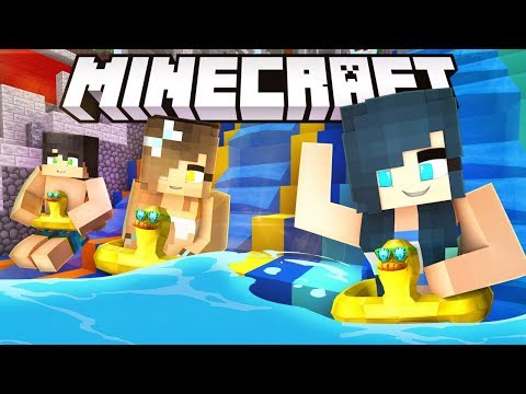 THE BEST WATER PARK IN MINECRAFT! (Lapis...