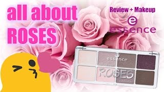 👸💐Review & demo | Paleta All about Roses | ESSENCE | Low cost 💕