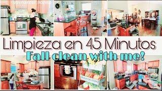 LIMPIA CONMIGO MI COCINA | LIMPIEZA RAPIDA💪| LIMPIEZA EXPRESS🕜😉| Fall clean with me | MARCEL