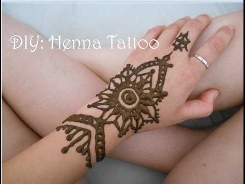 diy henna tattoo for beginners youtube. Black Bedroom Furniture Sets. Home Design Ideas