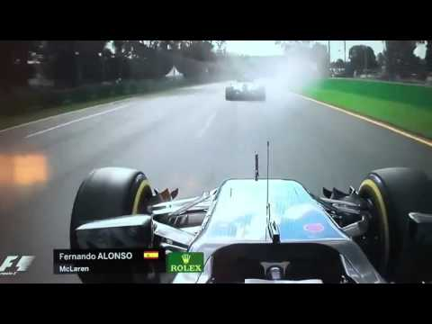 SPAVENTOSO INCIDENTE DI FERNANDO ALONSO IN GP D'AUSTRALIA