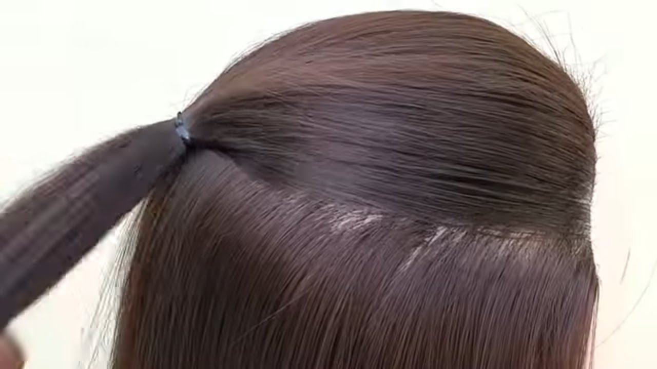 Easy Beautiful Long Hair Hairstyle Hairstyle For Girls Occasion Youtube