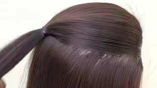 EASY BEAUTIFUL LONG HAIR HAIRSTYLE  || HAIRSTYLE FOR GIRLS//OCCASION