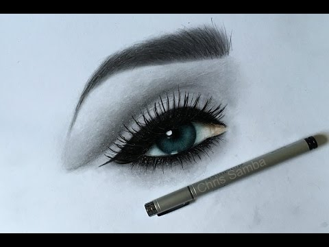 How i draw a realistic eye with color pencils youtube how i draw a realistic eye with color pencils ccuart Gallery