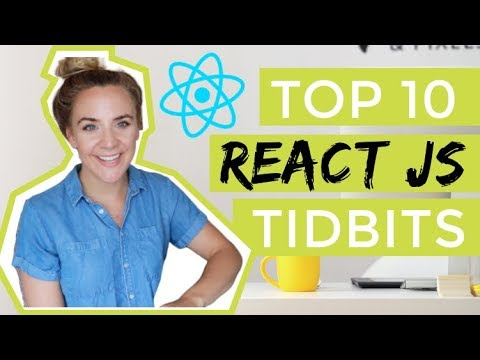 10 Things You Need to Know about React | daily life of remote software developer | React JS Tutorial thumbnail