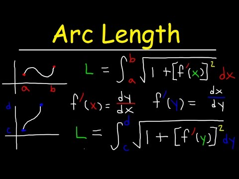 Arc Length Calculus Problems,
