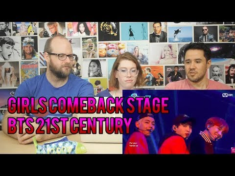 BTS  - 21st Century Girl -Comeback Stage - REACTION!