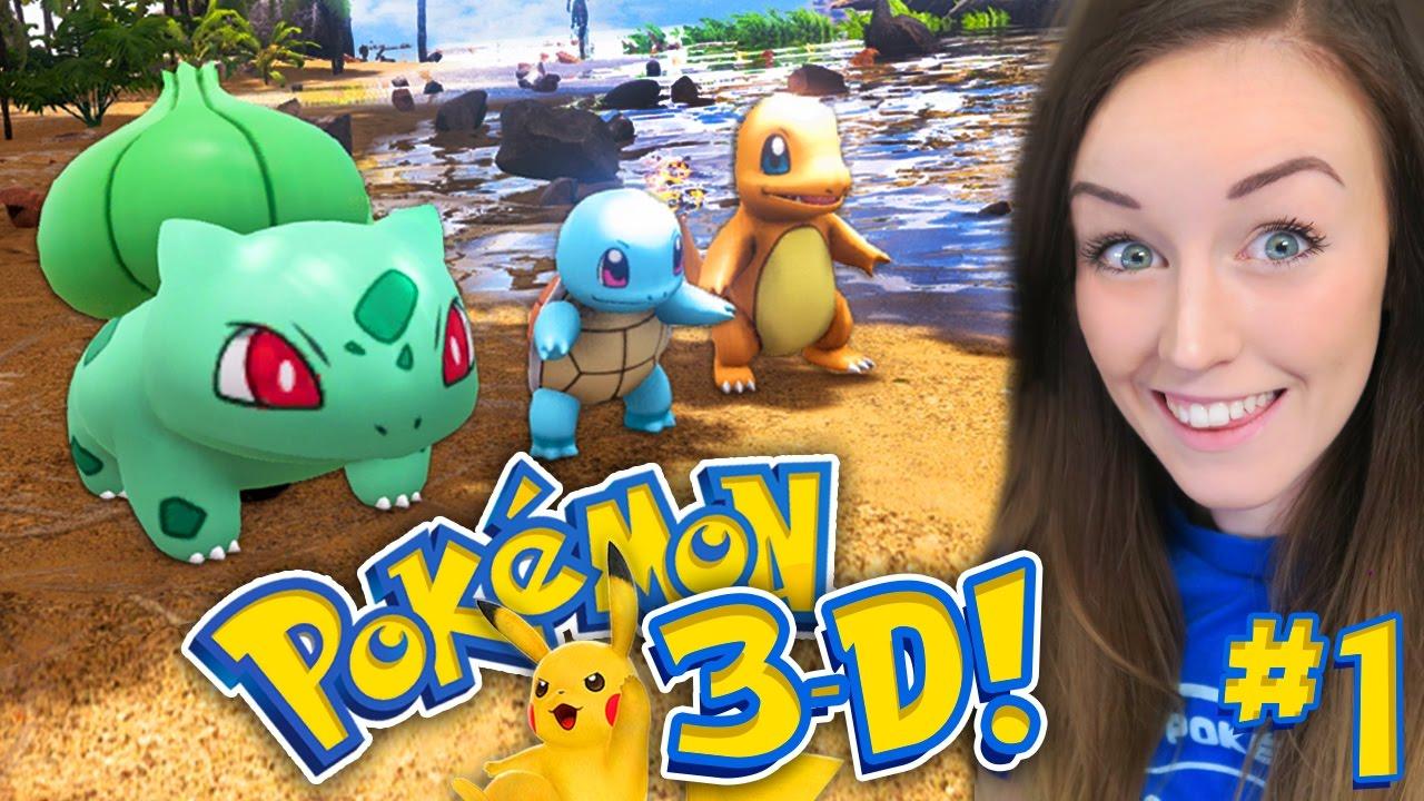 POKEMON 3D GAME!? - IT'S FINALLY HERE!!! (Pokemon Ark Mod ...