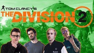 Jugando a la beta de The Division 2 con RickyEdit, Clavero y Widler (Directo Resubido)