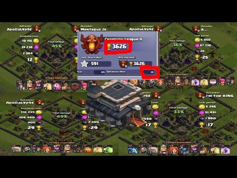 CLASH OF CLANS| TH 9 CHAMPION LEAGUE TROPHY PUSHING BASE| ANTI VALK BASE WITH REPLAYS..!!