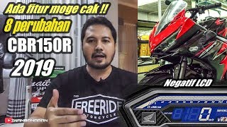 Talk Review : New HONDA CBR150R ABS model 2019 | FITUR BARU MANTAP !