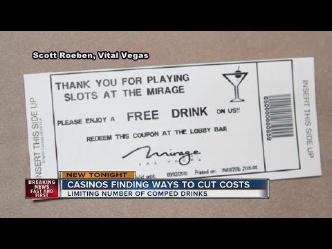 Strip Casinos Cutting Costs By Limiting Comped Drinks