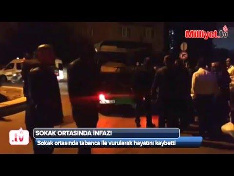 İstanbul Esenyurt'ta sokak ortasında infaz! videoyolu