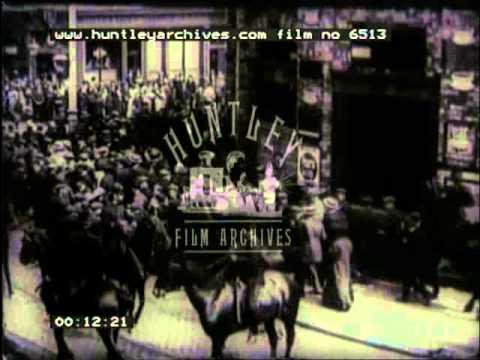 Civil unrest in the 1910's -- Film 6513