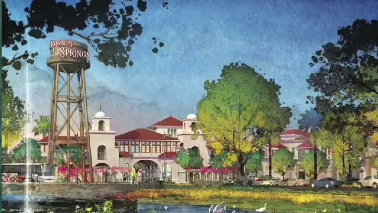 Disney Springs Concept Art For Downtown Disney Replacement At Walt Disney World Youtube