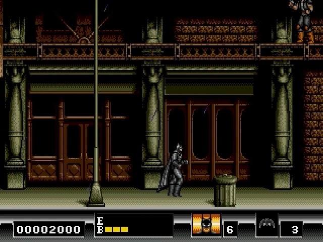 Jouez à Batman sur Sega Megadrive grâce à nos Bartops Arcade et Consoles Retrogaming