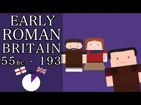 Ten Minute English and British History #01 - Early Roman Britain (Short documentary)