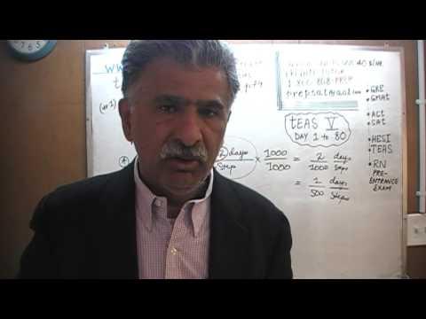 Teas 6 Ati Math Day 126 P79 Practice Problems 1 3 Test