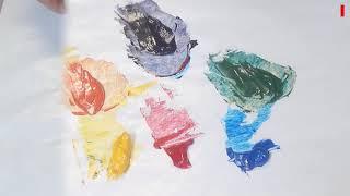 Le mélange des couleurs - parte 1 le cercle chromatique