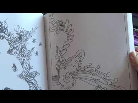 Book Flip Through: Awaken Your Creative Consciousness, the Ultimate Guide to Spontaneous Art
