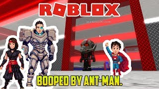 Roblox: BOOPED BY ANT-MAN! FAMILY SUPERHERO TYCOON