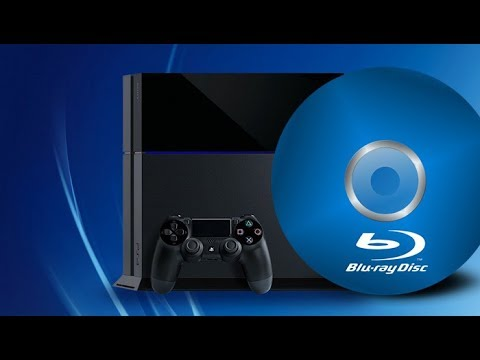 How To Play Blue Ray DVD  -PS4 -