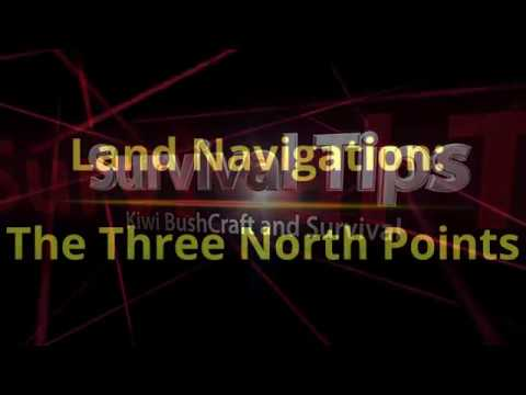 Land Navigation: The Three North Points
