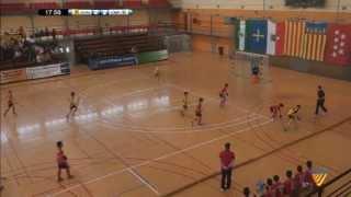 3º-4º Puesto infantil masculino (Campeonato de España hockey Sala 2013)