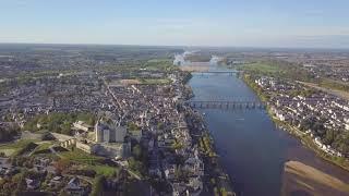 Château de Saumur Maine et Loire France 4K (Dji Mavic Pro Drone)