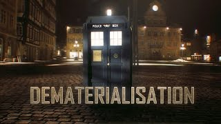 Dematerialisation - A Doctor Who VFX Shot