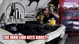 HOLDEN KINGSWOOD GETS BOOSTED! - THE SKID FACTORY