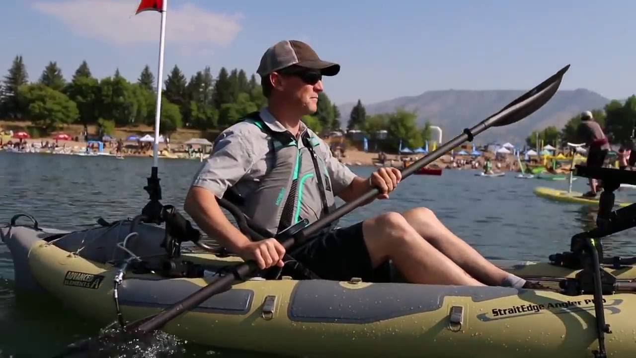 Advanced Elements Strait Edge Angler Pro oppustelige kajak