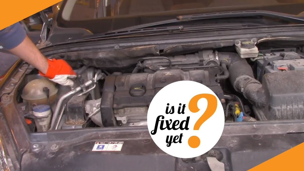 Where To Locate Different Fluids In Peugeot 307 Sw 2005 Youtube Engine Cooling Diagram