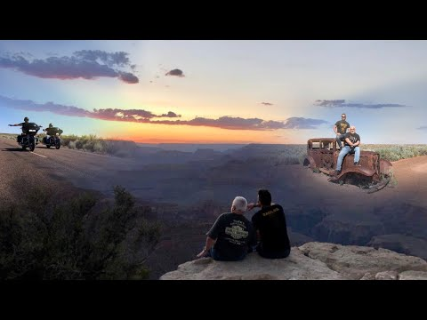 Route 66 On Harleys