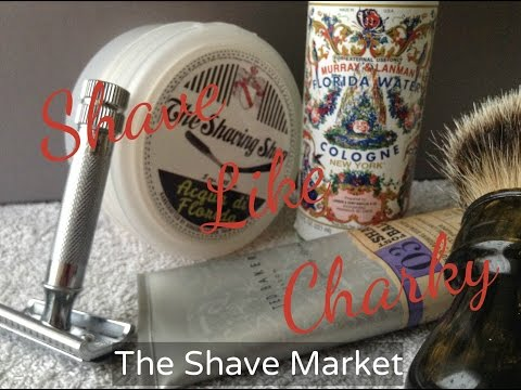 Shaving Like Charky - Acqua Di Florida,Florida Water Cologne
