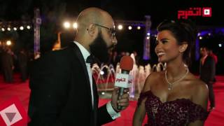 «فرح علي» في مهرجان القاهرة السينمائي لدعم زوجها