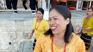 Gemu fa mi re performed by Thamlapokpi women choreography crew