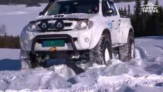 Arctic Trucks Vintertreff Golsfjellet 2014