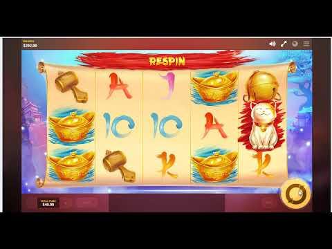 Lucky Fortune Cat Slot Machine