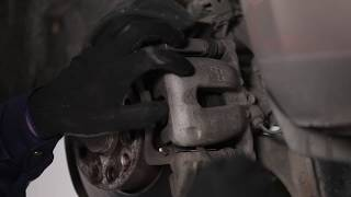 Remove Brake pad set SKODA - video tutorial