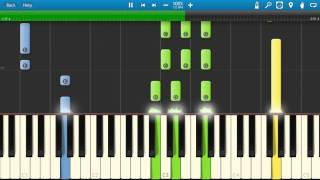 Pink Floyd - Have A Cigar Piano Tutorial - Synthesia