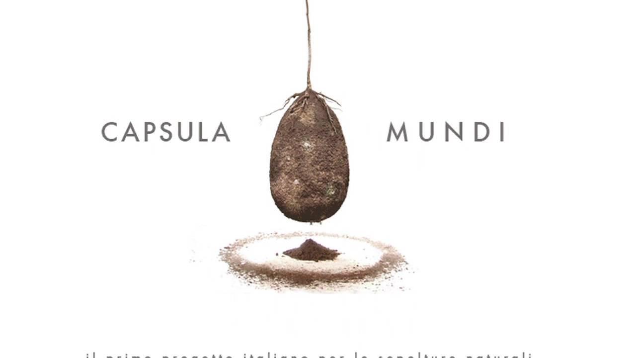 Cápsulas Mundi YouTube - Capsula mundi burial pods