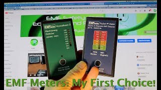 EMF Meters: My First Choice! Acousticom 2 Microwave Detector and PF5 EM Detector