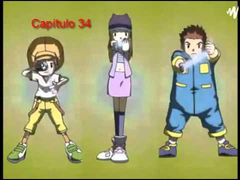 Digimon Frontier Transformations Cap (31-40) Castellano