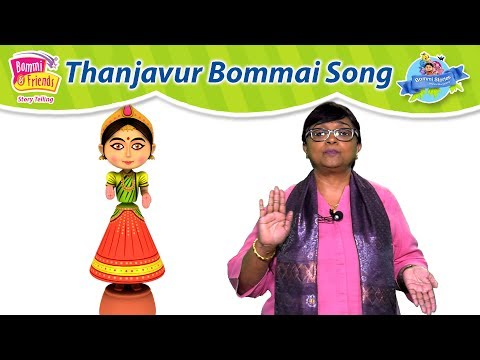 Thanjavur Bommai Song For Kids ( தஞ்சாவூர் பொம்மை ) |Brainy Taco,Talented Remba
