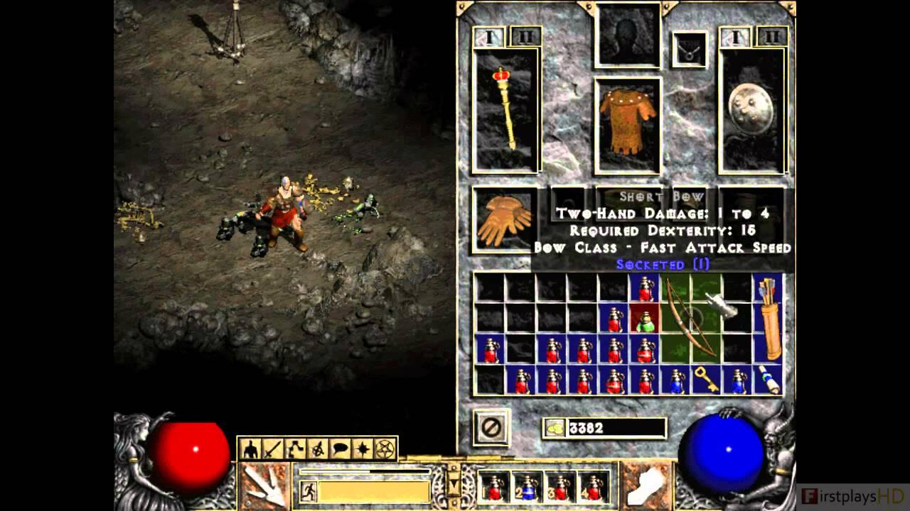 Diablo 2 - PC Gameplay - YouTube