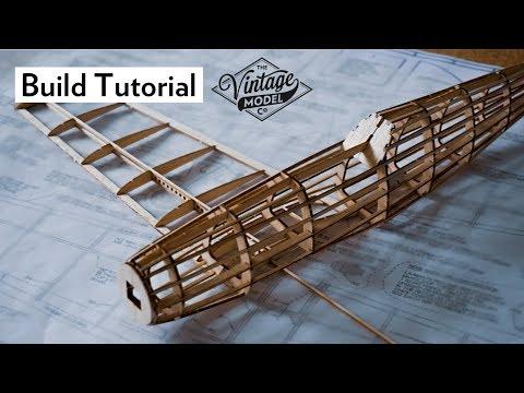 How To Build A Balsa Airplane Fuselage | Balsa Basics Series