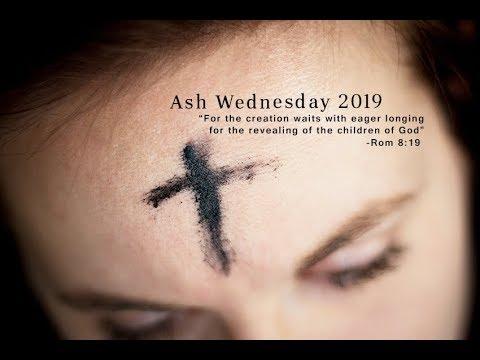 ash wednesday 2019 # 3